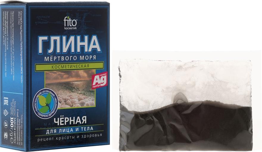 Argilă neagră de la Marea Moartă pentru față și corp - FitoKosmetik