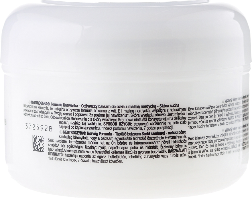 Balsam de corp - Neutrogena Nourishing Body Balm With Nordic Berry — Imagine N2