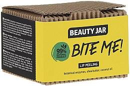 Parfumuri și produse cosmetice Scrub cu ulei de cocos și unt de shea pentru buze - Beauty Jar Bete Me Lip Peeling