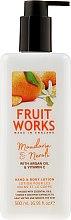 """Parfumuri și produse cosmetice Loțiune pentru mâini și corp """"Mandarină și Neroli"""" - Grace Cole Fruit Works Hand & Body Lotion Mandarin & Neroli"""
