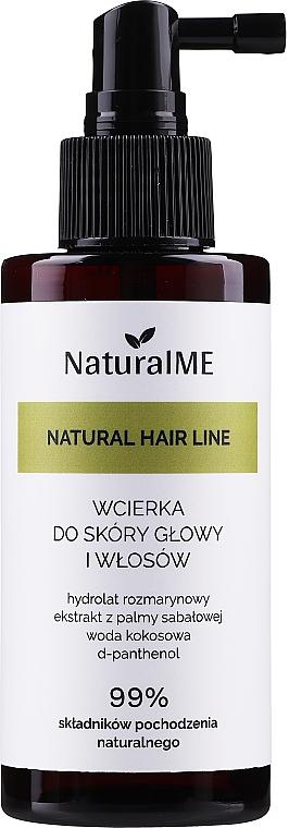 Loțiune împotriva căderii părului - NaturalME Natural Hair Line Lotion