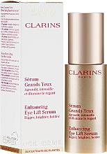Ser pentru față - Clarins Enhancing Eye Lift Serum — Imagine N1