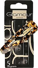 Parfumuri și produse cosmetice Agrafă de păr, 417794, cu print - Glamour