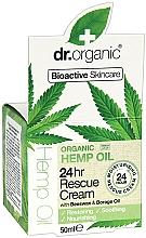 Parfumuri și produse cosmetice Cremă de față - Dr. Organic Hemp Oil 24hr Rescue Cream