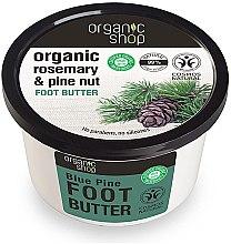 Parfumuri și produse cosmetice Unt cu extract de cedru pentru picioare - Organic shop Foot Butter Organic Cedar and Rose
