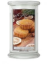 Parfumuri și produse cosmetice Lumânare aromatică, în borcan - Kringle Candle Cardamom Gingerbread