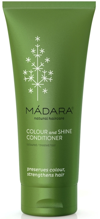 Balsam pentru păr colorat și tratat chimic - Madara Cosmetics Colour & Shine Conditioner — Imagine N4