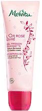 Parfumuri și produse cosmetice Gel organic revigoranat de curățare pentru față - Melvita L'Or Rose Givre Organic Icy Refining Gel