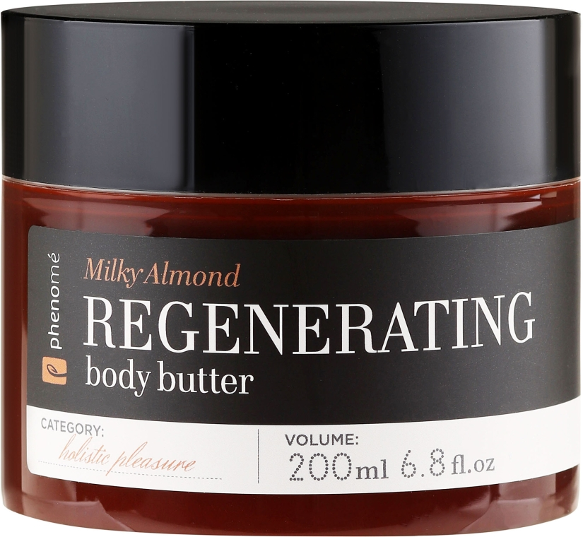"Cremă unt de corp ""Migdale și miere"" - Phenome Milky Almond Regenerating Body Butter — Imagine N2"