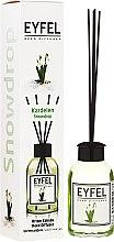"""Parfumuri și produse cosmetice Difuzor Aromatic """"Lăcrămioară"""" - Eyfel Perfume Reed Diffuser Snowdrop"""