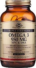 "Parfumuri și produse cosmetice Supliment dietetic ""Omega-3 EPA / DHA"" - Solgar Triple Strength 950 Mg"