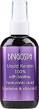 Parfumuri și produse cosmetice Concentrat pentru păr - Bingospa Liquid 100% Keratin with Biotine