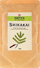 "Pudră de păr ""Shikakai "" - Sattva — Imagine N1"