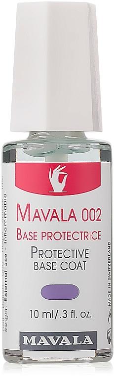 Lac de bază Mavela 002 - Mavala Double Action Treatment Base — Imagine N1