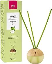 """Parfumuri și produse cosmetice Difuzor aromatic """"Măr"""" - Cristalinas Mikado Reed Diffuser"""
