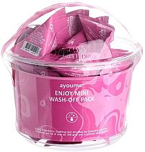 Parfumuri și produse cosmetice Set - Ayoume Enjoy Mini Wash-Off Pack(30x3g)