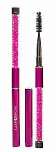 Parfumuri și produse cosmetice Perie pentru gene și sprâncene, roz - Lash Brow Pink