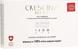 Parfumuri și produse cosmetice Remediu pentru creșterea părului pentru bărbați 1300 - Labo Crescina Re-Growth Anti-Hair Loss Complete Treatment 1300 Man