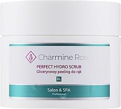 Parfumuri și produse cosmetice Peeling cu glicerină pentru mâini - Charmine Rose Perfect Hydro Scrub