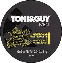 Parfumuri și produse cosmetice Pastă de păr - Toni & Guy Men Workable Matte Paste