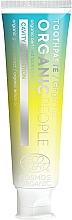 """Parfumuri și produse cosmetice Pastă de dinți """"Protecție împotriva cariilor"""" - Organic People Ginger Fizz Toothpaste"""