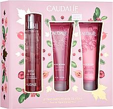 Parfumuri și produse cosmetice Caudalie Rose De Vigne - Set (edt/50ml + sh/gel/50ml + lot/50ml)