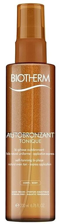Ulei cu două faze pentru bronz - Biotherm Autobronzant Tonique — Imagine N1