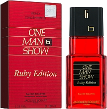 Bogart One Man Show Ruby Edition - Apă de toaletă — Imagine N2