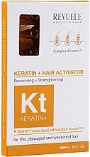 Parfumuri și produse cosmetice Activator hidratant, nutritiv și regenerant pentru păr - Revuele Keratin+ Ampoules Hair Restoration Activator
