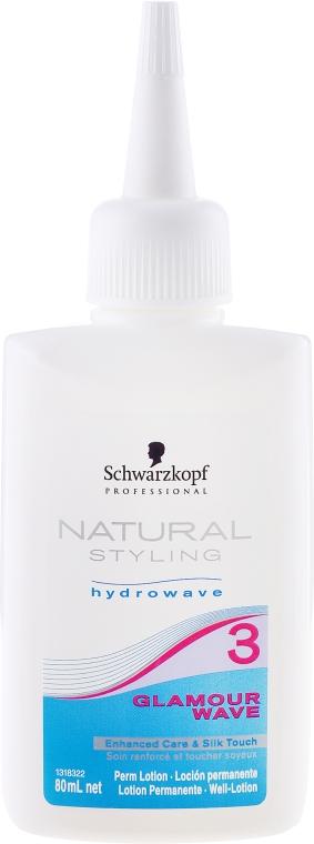Loțiune pentru hidrondulare chimică - Schwarzkopf Glamour Wave №3 — Imagine N1