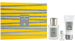 Parfumuri și produse cosmetice Acqua Di Parma Colonia Pura - Set (edc/100ml + sh/gel/50ml + edc/mini/5ml)