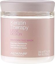 Parfumuri și produse cosmetice Mască de păr, hidratantă - Alfaparf Lisse Design Keratin Therapy Rehydrating Mask