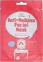 Parfumuri și produse cosmetice Mască folie împotriva petelor roșii și iritații pentru pielea sensibilă - Cettua Anti-Redness Facial Mask