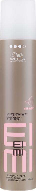 Lac de păr, fixare puternică - Wella Professionals Eimi Mistify Me Strong Hairspray