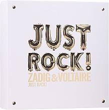 Parfumuri și produse cosmetice Zadig & Voltaire Just Rock - Set (edp/50ml + b/lot/50ml/sh/gel/50ml)