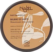 """Parfumuri și produse cosmetice Unt organic de Shea """"Vanilie"""" - Najel"""