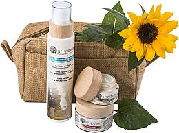 Parfumuri și produse cosmetice Set pentru îngrijirea tenului - Shy Deer (emulsion/200ml + cr/50ml + e/cr/30ml)