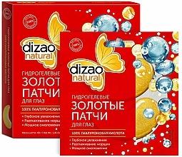 """Parfumuri și produse cosmetice Patch-uri hidrogel cu aur """"100% acid hialuronic"""" - Dizao"""