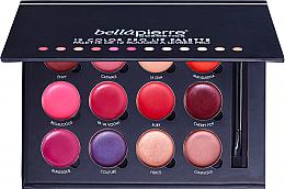 Parfumuri și produse cosmetice Paletă de machiaj pentru buze - Bellapierre 12 Color Pro Lip Palette