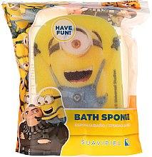 """Parfumuri și produse cosmetice Burete de baie pentru copii """"Minnioins"""", minion amuzant - Suavipiel Minnioins Bath Sponge"""