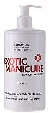 Parfumuri și produse cosmetice Cremă regeneratoare pentru mâini și unghii - Farmona Exotic Manicure SPA