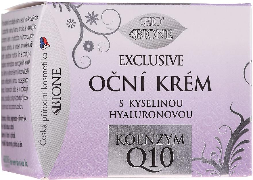 Cremă pentru pleoape - Bione Cosmetics Exclusive Organic Eye Cream With Q10