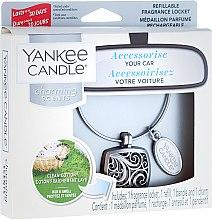 Odorizant pentru maşină - Yankee Candle Clean Cotton Square — Imagine N1