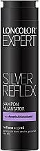 Parfumuri și produse cosmetice Șampon nuanțator pentru păr blond și gri - Loncolor Expert Silver Reflex Shampoo