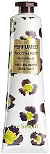 """Parfumuri și produse cosmetice Cremă nutritivă pentru mâini """"Muscus"""" - The Saem Perfumed Floral Musk Hand Shea Butter"""