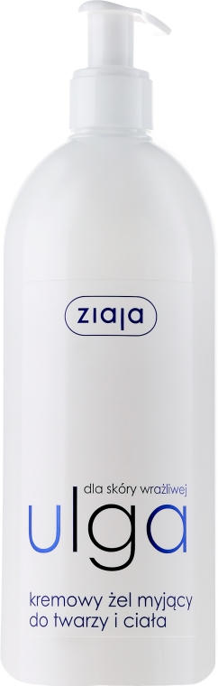 Gel-cremă pentru spălarea feței - Ziaja The Cream-gel For Face Wash