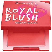 Parfumuri și produse cosmetice Fard de obraz cremos - Rimmel Royal Blush Cream