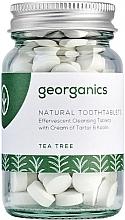 """Parfumuri și produse cosmetice Tablete pentru curățarea dinților """"Arbore de ceai"""" - Georganics Natural Toothtablets Tea Tree"""