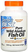 Parfumuri și produse cosmetice Ulei de pește pur din Alaska sălbatic cu AlaskOmega, capsule - Doctor's Best