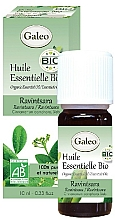 Parfumuri și produse cosmetice Ulei esențial organic de Ravensara - Galeo Organic Essential Oil Ravintsara